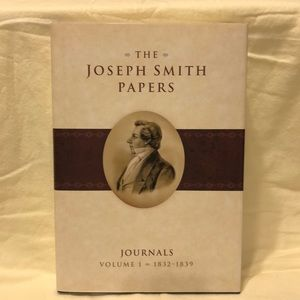 Book.  Joseph Smith Papers   Journal vol 1